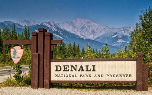 Denali National Park is known for its pristine parkland, wilderness areas, and snowy summits.