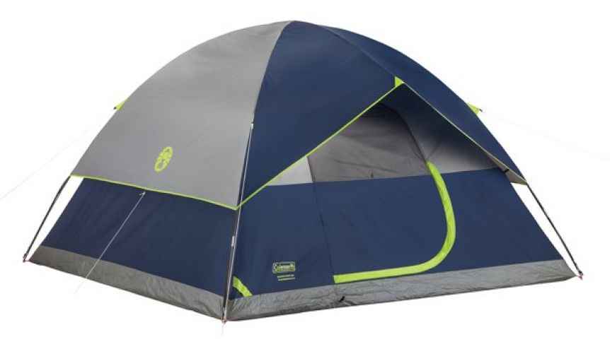 Coleman 6-Person Dome Waterproof Camping Tent Review