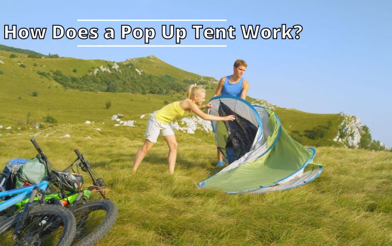 How Does a Pop Up Tent Work?