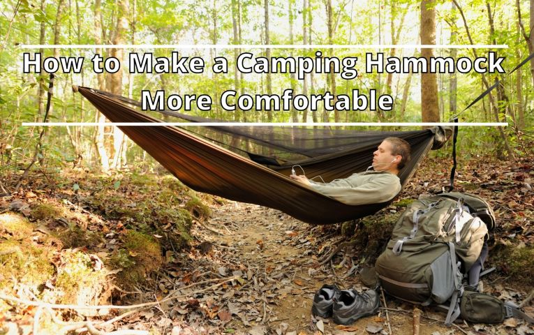 How to Make a Camping Hammock Comfortable