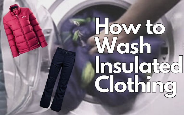 How to Wash Insulated Clothing